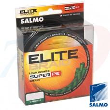 Pītā aukla Salmo ELITE BRAID Green 91m 0.11-0.20mm