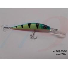 Alpha Diver 110mm 13gr 2.5-4.0m A12FL