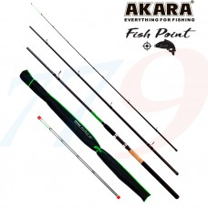 Fīderis AKARA FISH POINT TX-20 3X 3.30m test 40-80-120gr svars 320gr