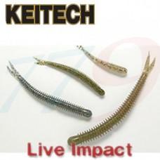 Silikona ēsma Keitech Live Impact 4
