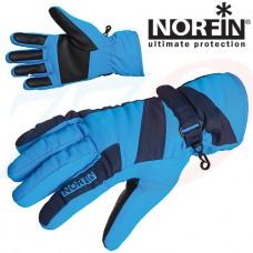 Norfin WINDSTOP BLUE Sieviešu flīsa cimdi ar THINSULATE siltinātāju